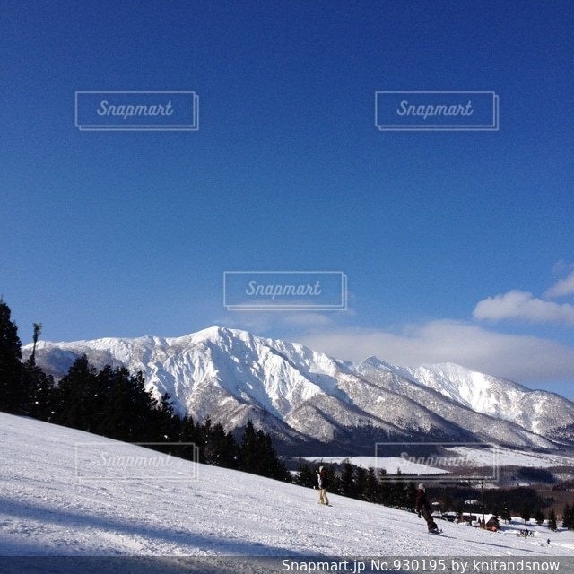 禿岳の写真・画像素材[930195]