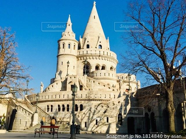 ハンガリー ブダペスト。漁夫の砦♪の写真・画像素材[1814840]