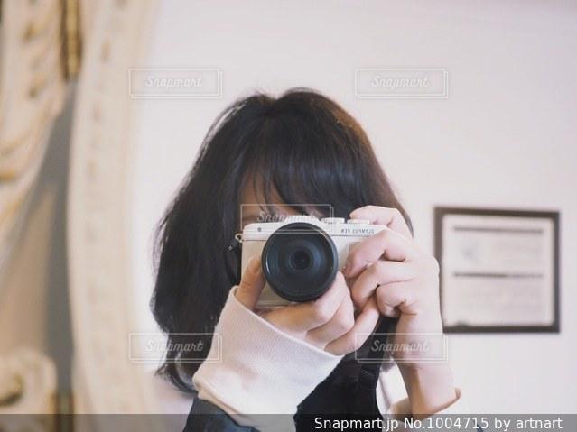 写真を撮るの写真・画像素材[1004715]
