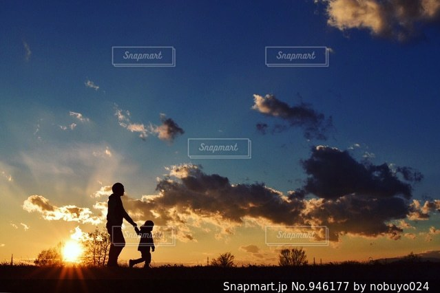 父と子の写真・画像素材[946177]