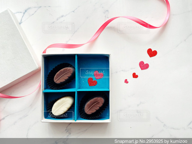 チョコレートの写真・画像素材[2953925]