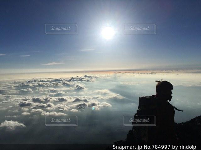 空の雲の写真・画像素材[784997]