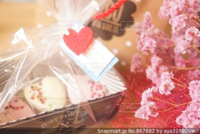 今年のバレンタイン。ハートのケーキ - No.867882