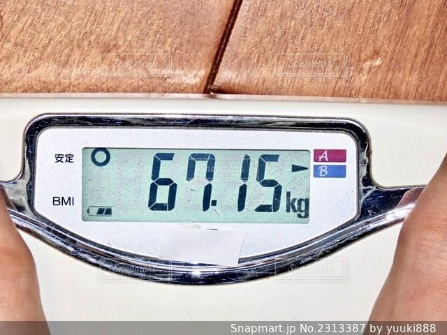 体重計の写真・画像素材[2313387]