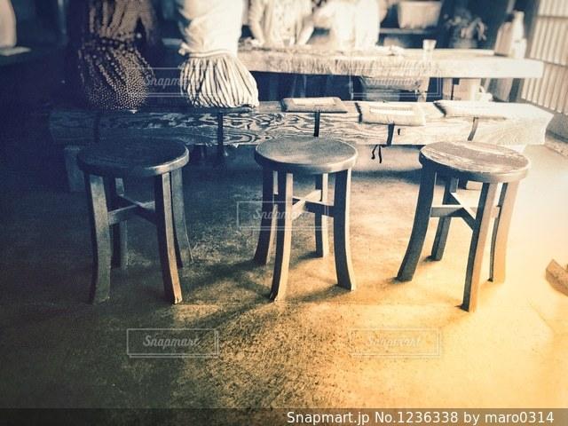 とあるカフェで。の写真・画像素材[1236338]