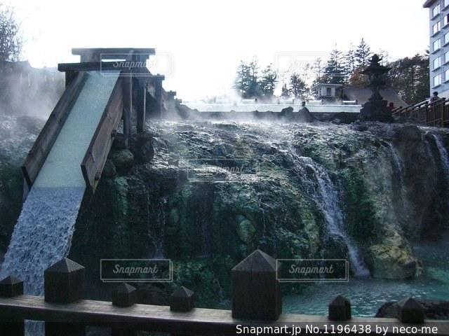草津温泉の写真・画像素材[1196438]