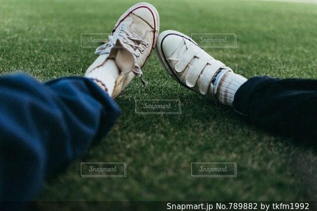 昼下がりのピクニックの写真・画像素材[789882]