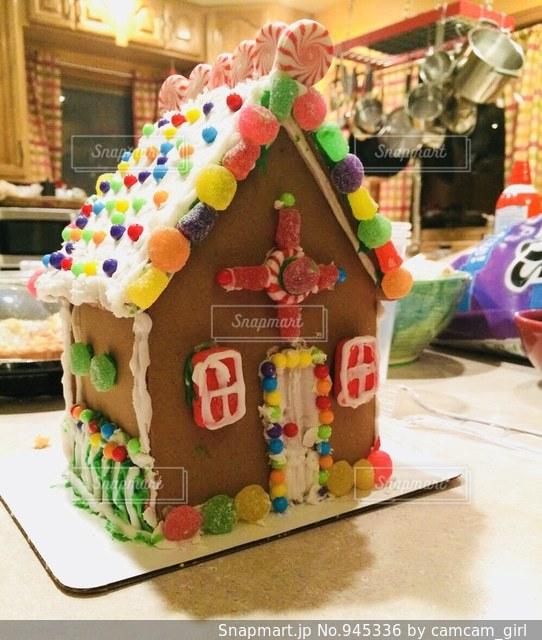 夢にみたお菓子の家の写真・画像素材[945336]