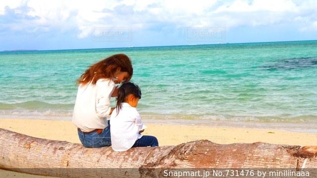 ホワイトビーチ♡の写真・画像素材[731476]