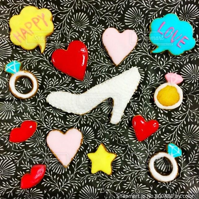 アイシングクッキーの写真・画像素材[800480]