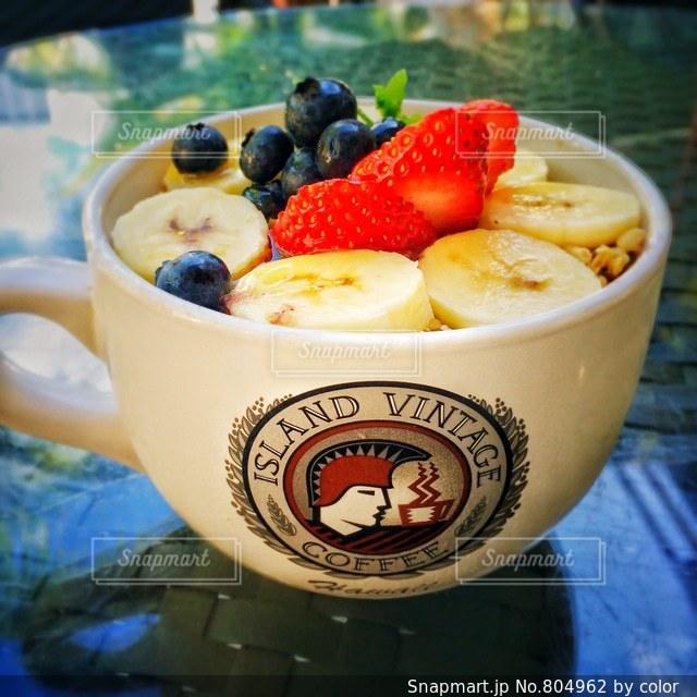 朝食やおやつの時間に♪の写真・画像素材[804962]