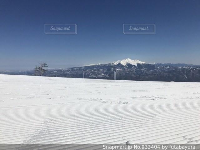 スキー場頂上からの景色 - No.933404