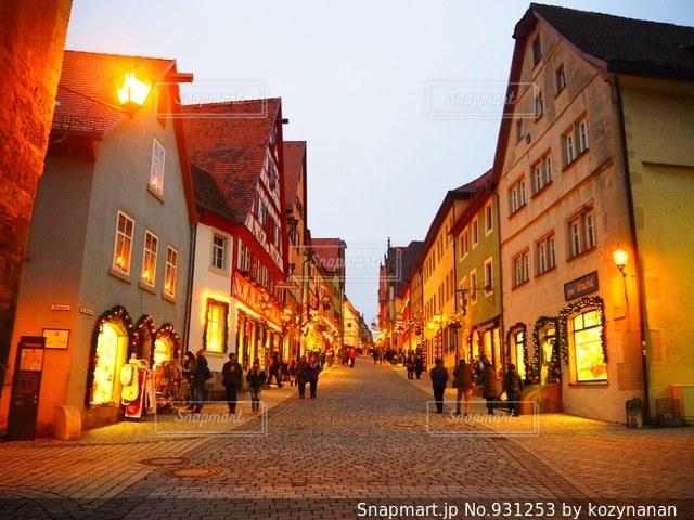 ローテンブルクの街並みの写真・画像素材[931253]