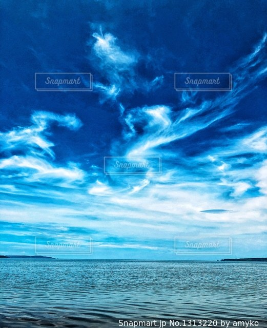 青空海の写真・画像素材[1313220]