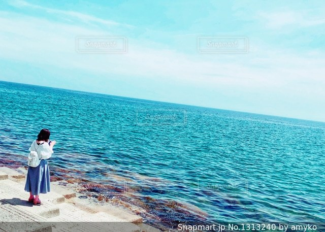 離島の夏の写真・画像素材[1313240]