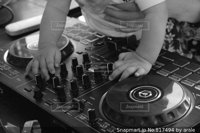 DJ赤ちゃん♪の写真・画像素材[817494]