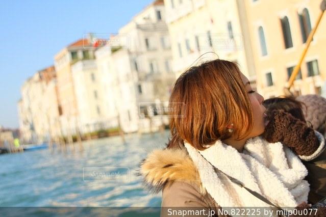 ヴェネチアの海の写真・画像素材[822225]