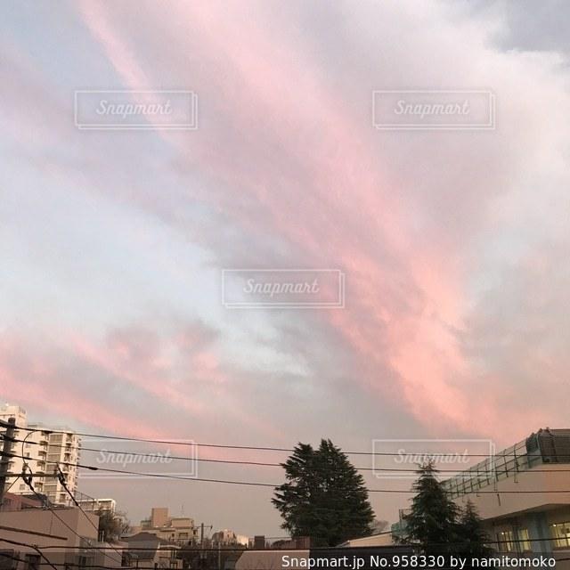 夕焼けの写真・画像素材[958330]