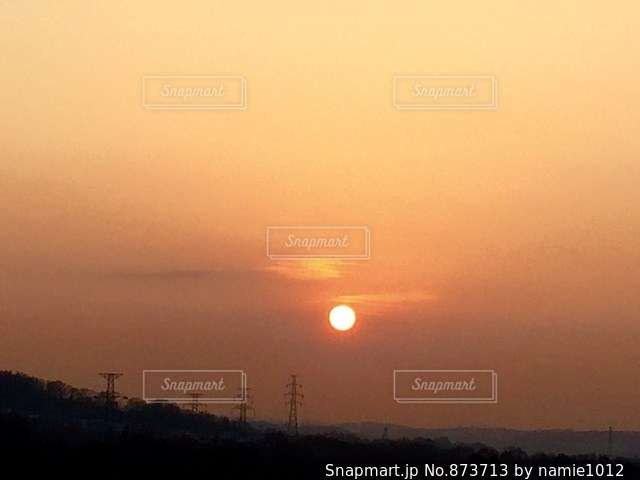 Beautiful sunset!の写真・画像素材[873713]