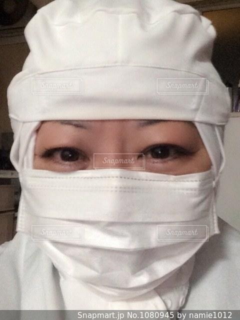工場の仕事をする人の写真・画像素材[1080945]