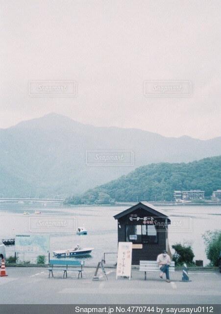 山中湖の写真・画像素材[4770744]