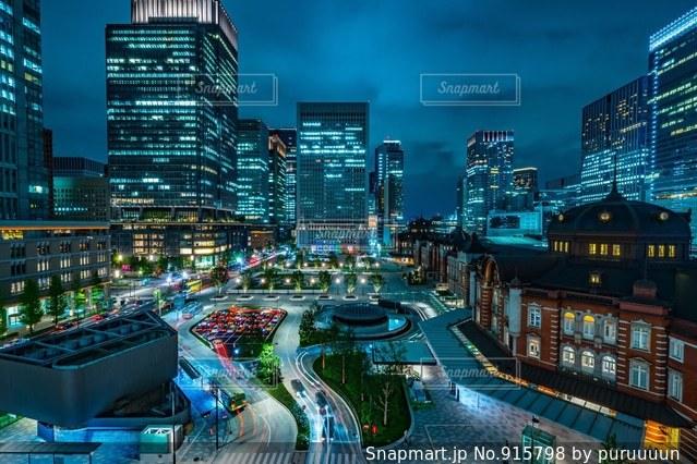 東京駅の写真・画像素材[915798]