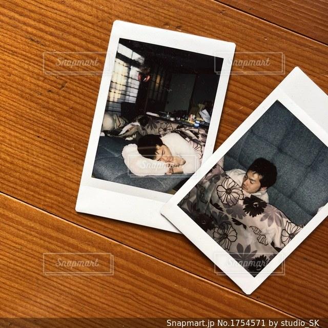 至福のこたつの写真・画像素材[1754571]