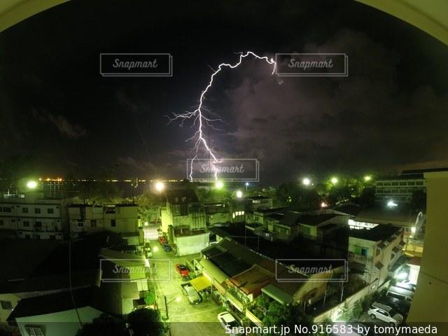 雷の写真・画像素材[916583]