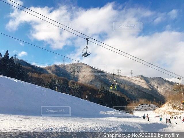 かぐらスキー場の写真・画像素材[933380]