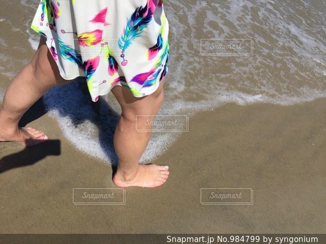 海外のプライベートビーチの写真・画像素材[984799]