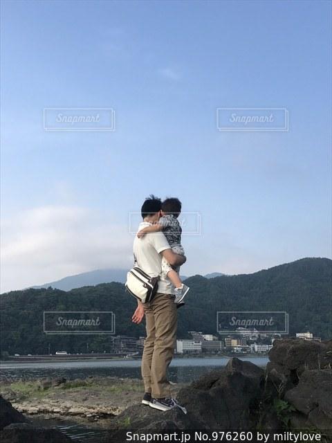 パパ大好きだよ☆の写真・画像素材[976260]