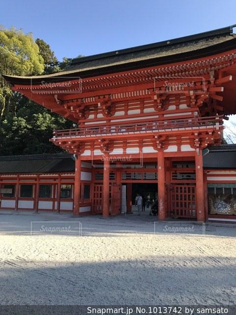 京都の下鴨神社の写真・画像素材[1013742]