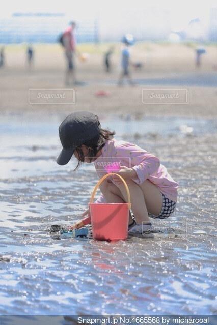 海遊びの写真・画像素材[4665568]
