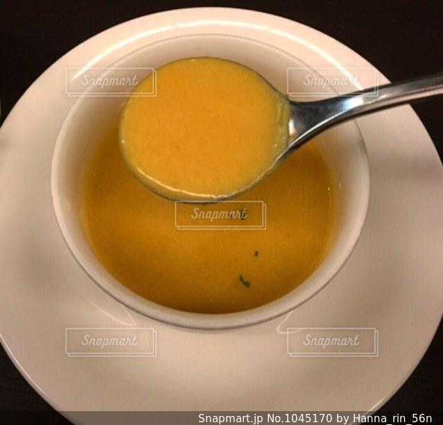 レストランのスープの写真・画像素材[1045170]