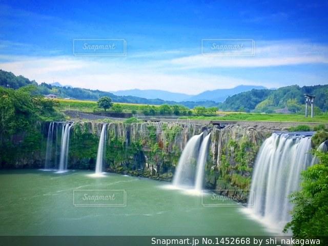 原尻の滝の写真・画像素材[1452668]
