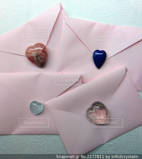 石のラブレターの写真・画像素材[2277811]