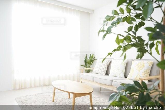シンプルな部屋の写真・画像素材[1023661]
