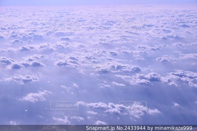 雲海の写真・画像素材[2433944]