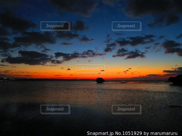 沖縄の海の写真・画像素材[1051929]