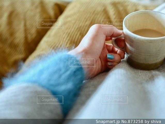 一杯のコーヒーの写真・画像素材[873258]