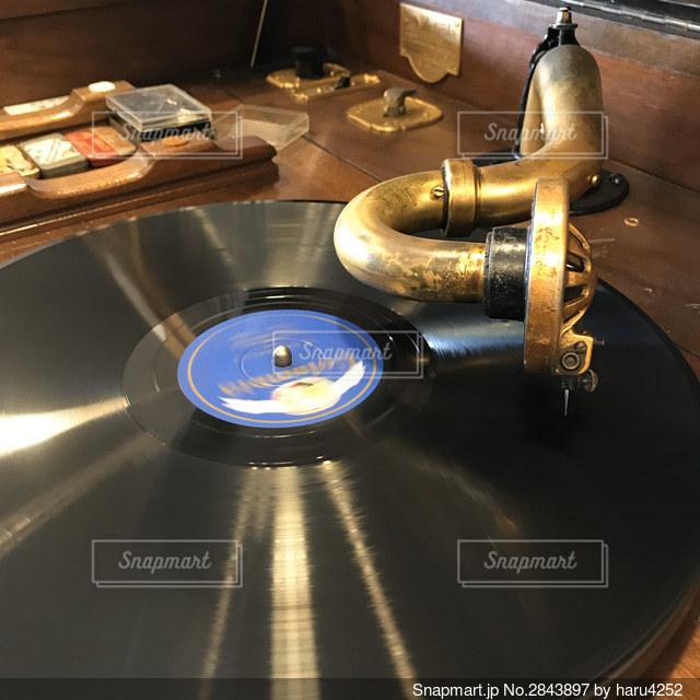 蓄音機の写真・画像素材[2843897]