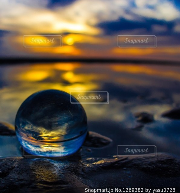 水晶の世界の写真・画像素材[1269382]