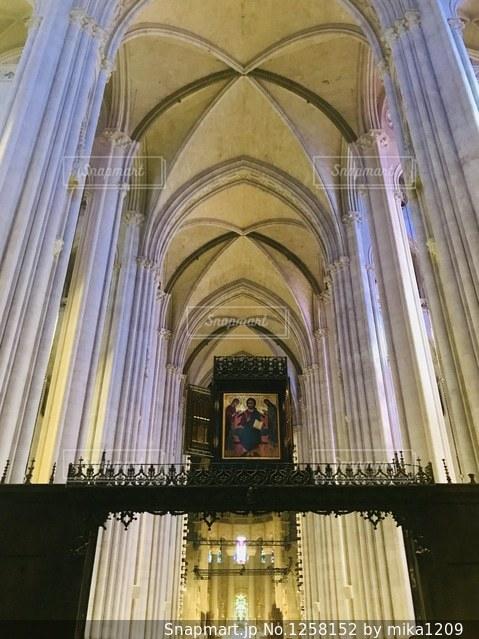 大聖堂の礼拝堂の写真・画像素材[1258152]