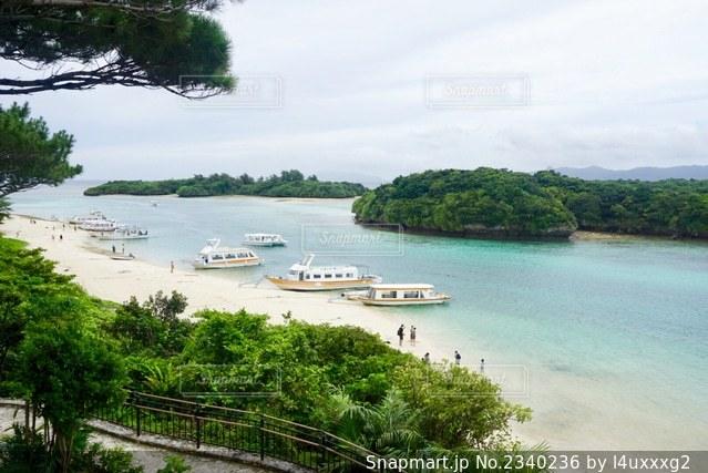川平湾の写真・画像素材[2340236]