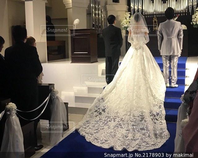 結婚式の写真・画像素材[2178903]