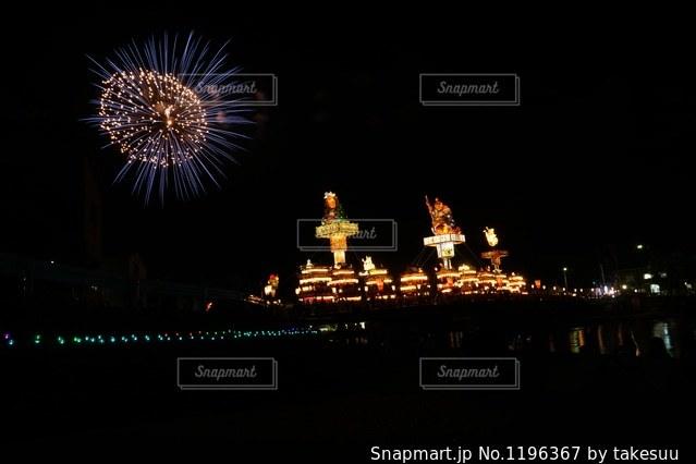 飯田町燈籠山祭りの写真・画像素材[1196367]