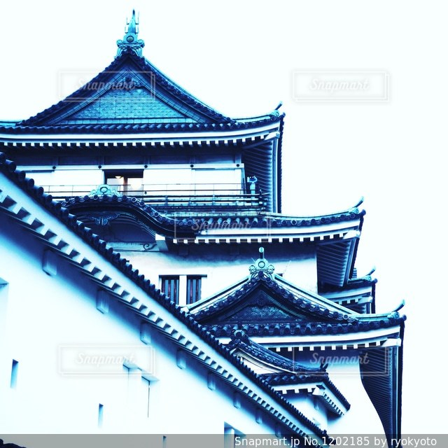 和歌山城の写真・画像素材[1202185]