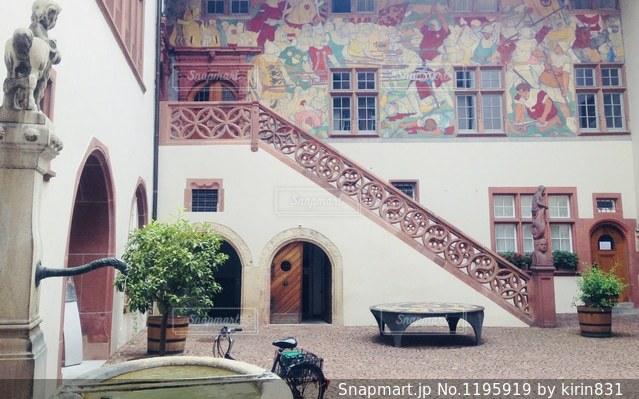 中庭の写真・画像素材[1195919]