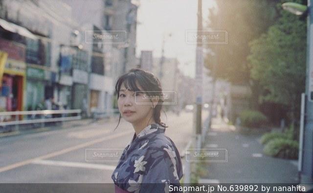 女性の写真・画像素材[639892]