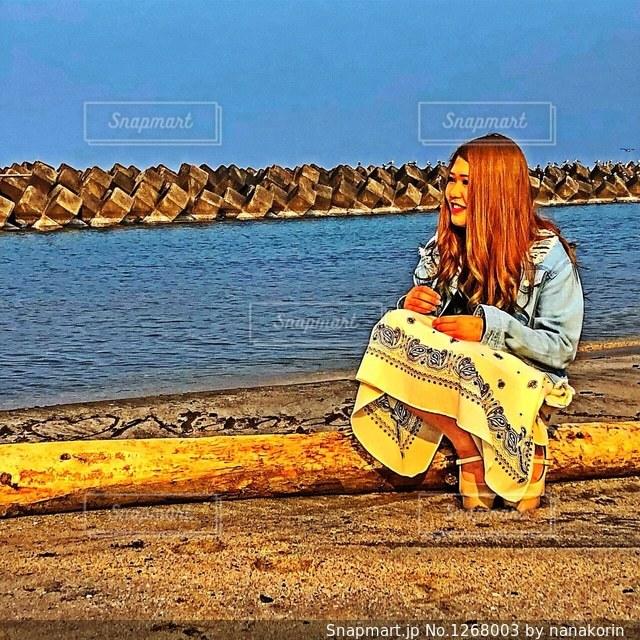 夏を待つギャルの写真・画像素材[1268003]